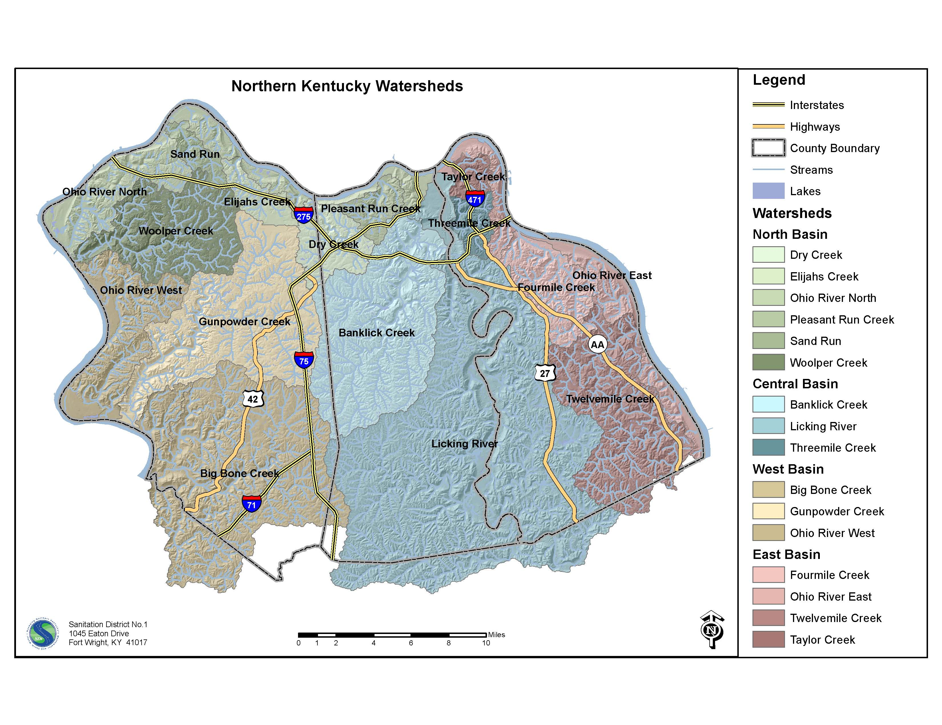 Norther Kentucky Watershed Map (JPG)